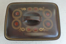 Large Denby Pottery Stoneware  Arabesque Serving Dish / Casserole  with Lid