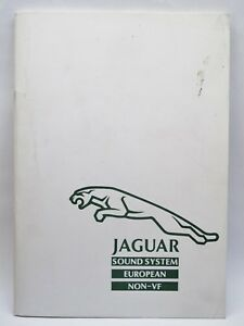 JAGUAR XJ40 CLARION RADIO SOUND SYSTEM HANDBOOK MANUAL EUROPE NON-VF 280-5100-00