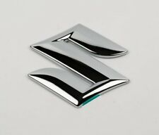 Suzuki Swift Alto Splash front grille badge emblem logo chrome - self adhesive