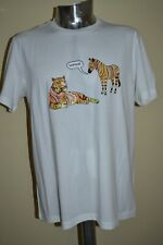 Paul Smith COPY CAT ZEBRA T Shirt Reg Fit Medium BNWT