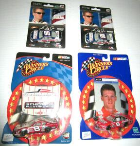 NASCAR 1:64 Scale Dale Earnhardt Jr. #88 National Guard/#8 Winner's Circle (4)