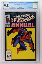 Amazing Spider-Man Annual #17 - Marvel 1983 CGC 9.8 Kingpin Appearance.