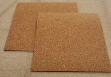 CORK SHEET, 225 mm X 195 mm, CHOOSE THICKNESS, LANDSCAPE MATS.