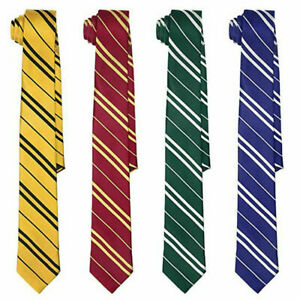 Wizard Tie For Harry Potter Cosplay Book Day Fancy Dress Premium Quality Gift UK