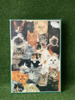 Otter House CATS LIFE 1000 Piece Jigsaw Avril Haynes SEALED Animal Jigsaw