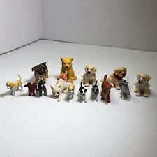 Schliech Puppies And Unbranded Dogs And Cars Used Lot Of 14