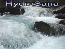 HYDROSANA Elektrolyse Fußbad Wellness Spa mit 3 Spulen + 1000 g Salz