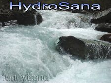 HYDROSANA Detox Elektolyse Fußbad Wellness Spa mit 3 Spulen + 1000 g Salz