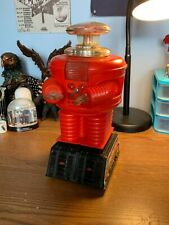 REMCO Vintage Lost In Space B9 Robot 1966 RED Variant (Not Working)