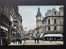 Monmouthshire: Newport, Commercial Street shows OLD BUSH HOTEL c1908 by M.J.R.B.