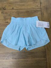 Lululemon Tracker Shorts Size 2 Blue Glow