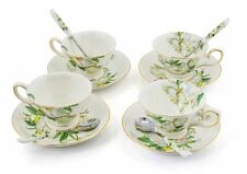 Porcelain Tea Cup and Saucer Coffee Cup Set of 4 Tc-Bsh s7