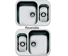 Smeg Alba 1.5 Bowl Undermount Sink Stainless Steel UM3416-1