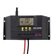 30A 50A PWM Solar Laderegler Solarregler Batterie Regulator 12V/24V Auto Work PW