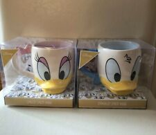 NEW DISNEY DONALD & DAISY DUCK MUGS - BNIB TEA CUPS