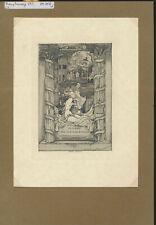 EX19416 EX Libris FRANZ TAUSSIG women in city fine c2