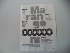 advertising Pubblicità 1982 MARANGONI PNEUMATICI
