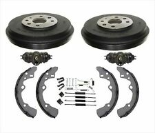 Fits Ford 97-03 Escort Tracer (2) Brake Drums & Shoes Wheel Cylinders Springs