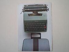 advertising Pubblicità 1974 OLIVETTA LETTERA 32