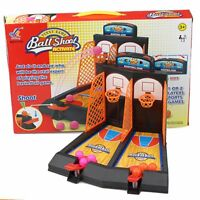 Double Desktop Catapult Basketball Table Toy Mini Shooting Toy U2