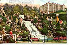 Olson Rug Company Advertising-Waterfall Park-Chicago-Illinois-Vintage Postcard
