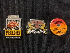 More details for hard rock cafe pins hard rock calling crew 40 year anniversary