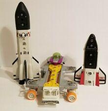 Vintage MBX Matchbox Mega Rig Shuttle Mission Play Set Space Alien Astronaut