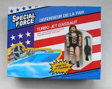 Vintage G.I.Joe SPECIAL FORCE Attack Turbo Jet & Figure MIB 1980's