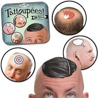 Accoutrements Tattoupees Stickers Bald Tattoos  Funny Humor Gag Gift Fun