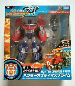 Transformers Go! G11 Hunter Optimus Prime Takara Tomy 2013 GO! action figure
