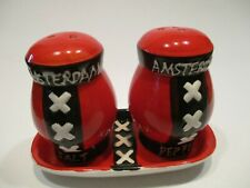 pepper & salt set Amersterdamse  /  Peper en zout stel