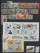 Worldwide Collection on 3 Pages - Austria, Ethopia, Greece MH/MNH/Used