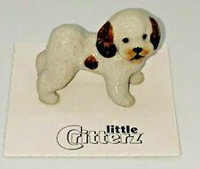 New, Little Critterz Shih Tzu Sultan, Dog Miniature Figurine