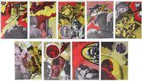 Henri CUECO  : Le Pilote - 9 LITHOGRAPHIES originales #1972 #MOURLOT