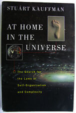 #AB1^2,, Stuart Kauffman AT HOME IN THE UNIVERSE:THE SEARCH FOR THE LAWS OF S...