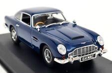 Norev 1/43 Scale - Aston Martin DB5 Coupe 1964 Metallic Blue Diecast Model Car