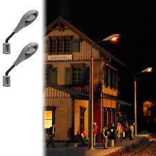 Busch Environnement - Bue4132 Modélisme Ferroviaire 2 lampadaires