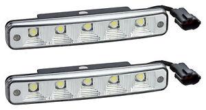 10-POWER LED TAGFAHRLICHT E-Prüfzeichen E11 R87 DRL 6000K für Mercedes