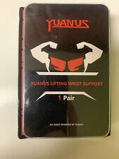 """YUANUS Lifting Wrist Support 20"""" with Thumb  Loops Weight Lifting Wrist New"""