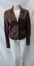 giacca jacket  donna vera pelle nappa cristina gavioli taglia 44