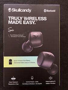 Skullcandy Spoke Truly Wireless Earbuds - Black - Brand New & Sealed