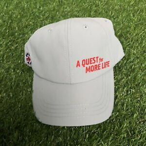 Orange Theory Fitness Gray ALS A Quest For More Life Cap Hat OTF NEW