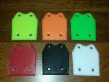 1:8e RC /Mugen mbx/Xray xb8  lot de 4 Skid plate Protections (couleurs au choix)