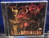 KGP - Hellusination CD SEALED horrorcore wicked shxt bedlam project deadman hok