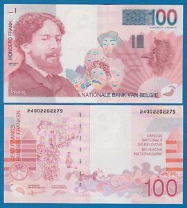 Belgium 100 Francs P 147 UNC 1995-2001 Low Shipping Combine FREE Belgie Belgique