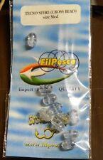 1 confezione da 10 tecnosfere ovali FILPESCA mis MED pesca mf at4