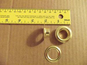 C.S. Osborne Plain Rim Grommets Size #5 (Pkg. Of 36)