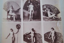 CALAVAS ETUDE DE NUS  TIRAGE ALBUMINE ALBUMEN VINTAGE PRINT 1880 PEINTURE ref22