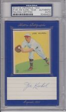 2013 Historic Autographs Originals JOE KUHEL Goudey Cut Autograph #18/25 PSA