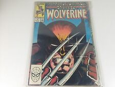 Comics Marvel 1988  Wolverine VO etat proche du neuf mint collector